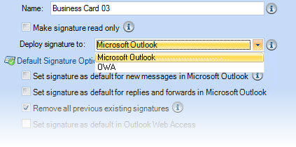 how to make signature in outlook