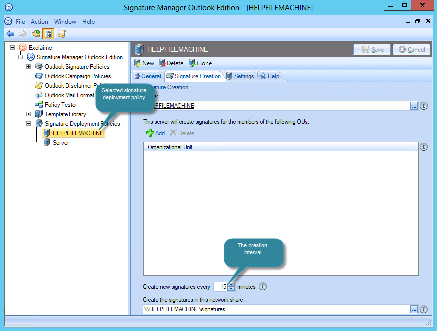 Exclaimer Signature Manager Outlook Edition - Understanding the ...
